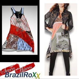 BrazilRoxx Seven Waves Tunic Dress
